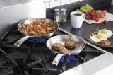 frigideiras do aço 1810tri-Ply inoxidável (CX-SNF03)
