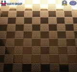 Plaque de couleur de feuille d'acier inoxydable de bonne qualité avec le PVC