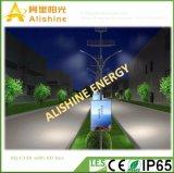 Nuova illuminazione solare delle lampade LED di disegno 120W Doule di Alishine con la casella dell'annuncio per l'OEM del ODM della strada di città