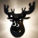 Luz de acrílico creativa de la pared, lámpara del LED para la Navidad para el regalo