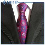Gravata tecida estoque dos homens da fábrica da gravata de China