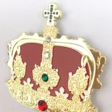 Magnet (XD-B5221)를 가진 금속 Souvenir Diamond Crown Badge