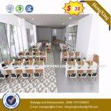공장 가격 PVC 가장자리 밴딩 버찌 색깔 사무실 워크 스테이션 (HX-8NR0015)