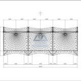 Auto-Zelt-Regen des Hutstumpen-PVDF und Sun-Schutz-Membrane