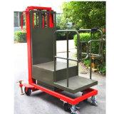 самоходный приведенный в действие электрический воздушный подборщик заказа 300kg