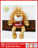 Jouet de peluche de gosses de lion