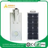 5W-120W todo en una lámpara al aire libre solar integrada del jardín de la iluminación de la luz de calle LED