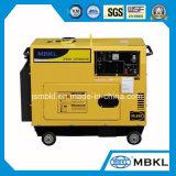2kw de Enige Fase van 220V/380V/de Luchtgekoelde Draagbare Correcte Diesel van het Bewijs Reeks In drie stadia van de Generator