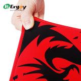 Выдвиженческий подгонянный напечатанный логосом изготовленный на заказ коврик для мыши разыгрыша