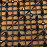 China-Lieferanten-deckt niedrige Sri- Lankaplattform Preis-Bauholz-hölzernen Bodenbelag mit Ziegeln