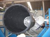 De plastic Lopende band van de Uitdrijving van de Rioolbuis Holle Windende