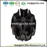 Het Bouwmateriaal van Heatsink van het Profiel van het Aluminium van de Sneeuwvlok van de goede Kwaliteit