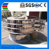 Triagem de vibração de celulose industrial de leite em aço inoxidável da Máquina