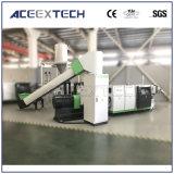 Plástico que recicla la cadena de producción de la granulación del PE de los PP