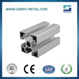 Profilo anodizzato personalizzato di Streamline dell'alluminio