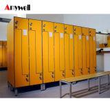 Supermarché HPL durables 18 casiers de stockage de porte
