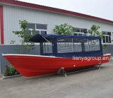 Barge de travail de bateau de pêche de fibre de verre de Liya 25FT à vendre