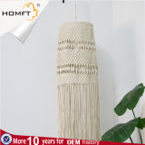 Knitting machine Natural Rope Handmade Color Long Tassles LED Shade Lamp