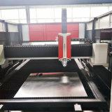 doppia tagliatrice del laser della fibra della piattaforma 3000W per la lamiera sottile