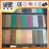 Precio bajo 304 hoja de acero inoxidable de 316 colores