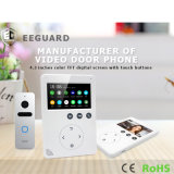 Home Security 4,3 inches of MEMORY Interphone video Intercom Doorbell