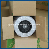 Belüftung-selbstklebendes Vinylmaterieller Einweganblick-Glas-Aufkleber