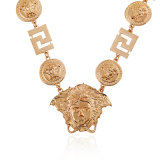Стародедовское ожерелье формы стороны головки сбор винограда красотки, серебряная цепь формы z