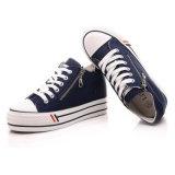 新しいデザイン方法女性の偶然靴ゴム製唯一の平らな様式