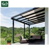 Châssis en aluminium robuste en polycarbonate solide balcon Patio couvrir