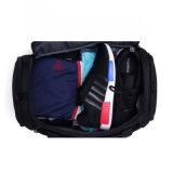 Мода водонепроницаемый черный полиэстер Custom мужчин Duffel поездки в выходные дни мешок