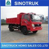 8ton 중국 판매를 위한 소형 픽업 화물 자동차 팁 주는 사람 트럭