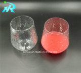 プラスチック使い捨て可能なワイングラスのワインのマグ