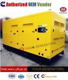 generatore diesel silenzioso di energia elettrica di 150 KVA Cummins [IC180309j]