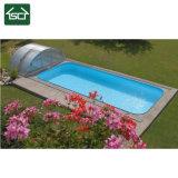De intrekbare Automatische Dekking van het Zwembad met het Dakwerk van het Polycarbonaat
