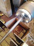 El combustible tubo portador mediante PU PE PVC Línea de extrusión de tubo neumático que hace la máquina