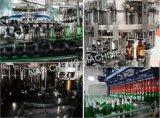 Botella de vidrio totalmente automática máquina de llenado de cerveza