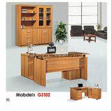 Escritorio de madera ejecutivo moderno Yf-G3203 de los muebles de oficinas de la venta caliente