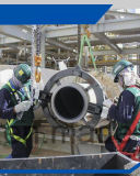 Corte resistente del tubo y máquina que bisela en el sitio Pipewok