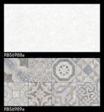 Interior acristalado de inyección de tinta cuarto de baño de cerámica azulejos de pared para la decoración de interiores