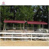 쉬운 알루미늄 경기장 Bleacher는 금속 구조 Bleacher를 설치한다