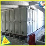 Réservoir d'eau en plastique boulonné d'incendie de panneau de fibre de verre