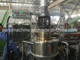 La machine en plastique de pelletisation avec vertical meurent le système de découpage de face