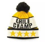 冬の帽子によって編まれる帽子POM POMの帽子の帽子のジャカード帽子の帽子