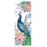 De bloemen Mat van de Yoga van de Douane van de Pauw Tropische Kleurrijke