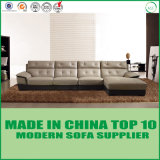Sofa en cuir sectionnel moderne de loisirs de meubles de salle de séjour de Divaani