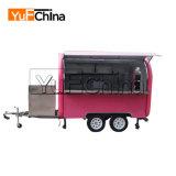 La comida de remolque/Carreta/camión de alimentos para la merienda, Ice-Cream