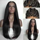 Dlme парик волос черноты 30 дюймов Silk прямой мягкий синтетический