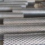 構築の鉄の金網の拡大された金属線の網