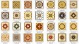 Porzellan-Fußboden-Teppich deckt 1200X1800 für Bauvorhaben mit Ziegeln (Bdj80018-2