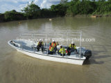 Liya 7.6m 어선 섬유유리 어선 Panga 배